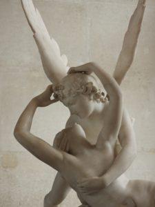 La escultura de Eros y Psique de Canova