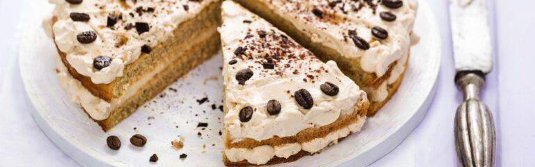 cómo se hace la receta de la tarta de moka