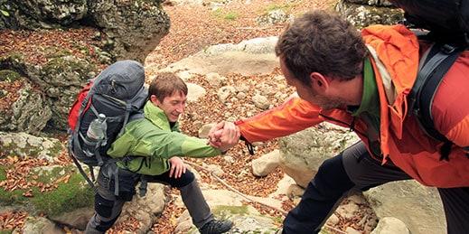 Descubre la figura del guía de montaña